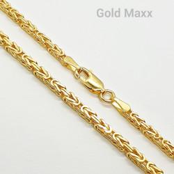Złoty męski łańcuch
