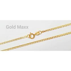 Złoty łańcuszek o oryginalnym splocie