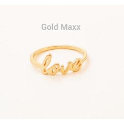 """Złoty pierścionek ,,LOVE"""""""